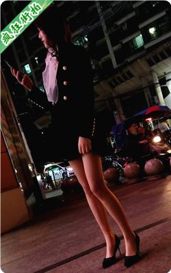 【已补档】4K视频!夜晚黑色高跟超短裙极品修长美腿漂亮美少妇-523MB