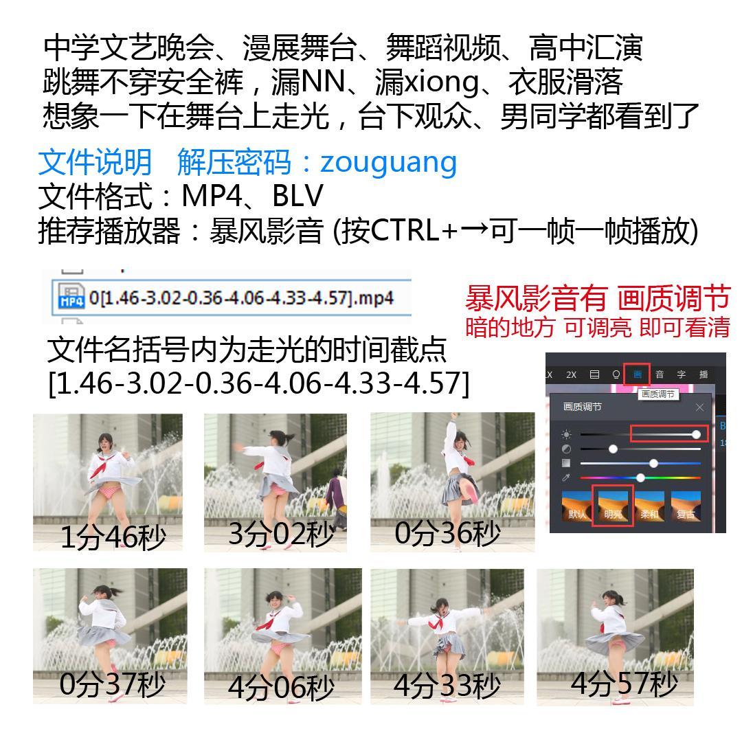 原走光大师舞蹈1-9部合集550V/28G