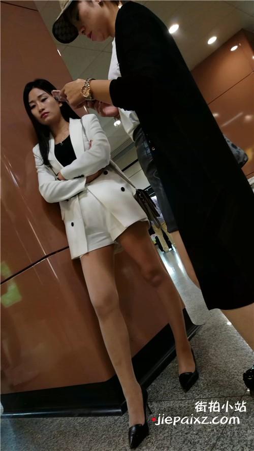 大长腿高跟丝袜系列气质美女