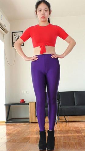安安的紧身紫裤正面作品[273M/MP4]