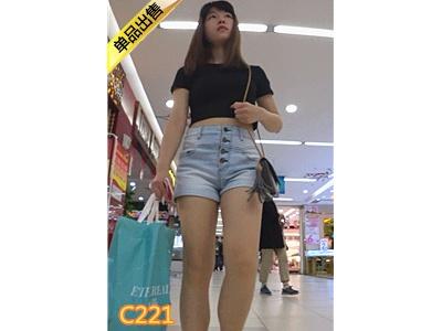 [稳住你的丁丁] 极品短牛大长腿少女,等的我好久[2.19G] 编号:C221
