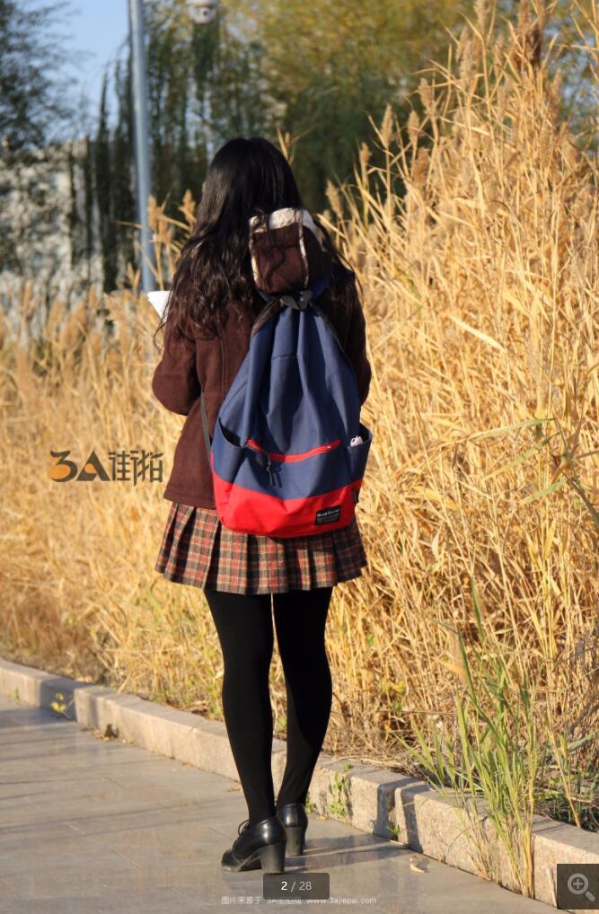 [东方使者] 厚黑丝学生妹 -28P