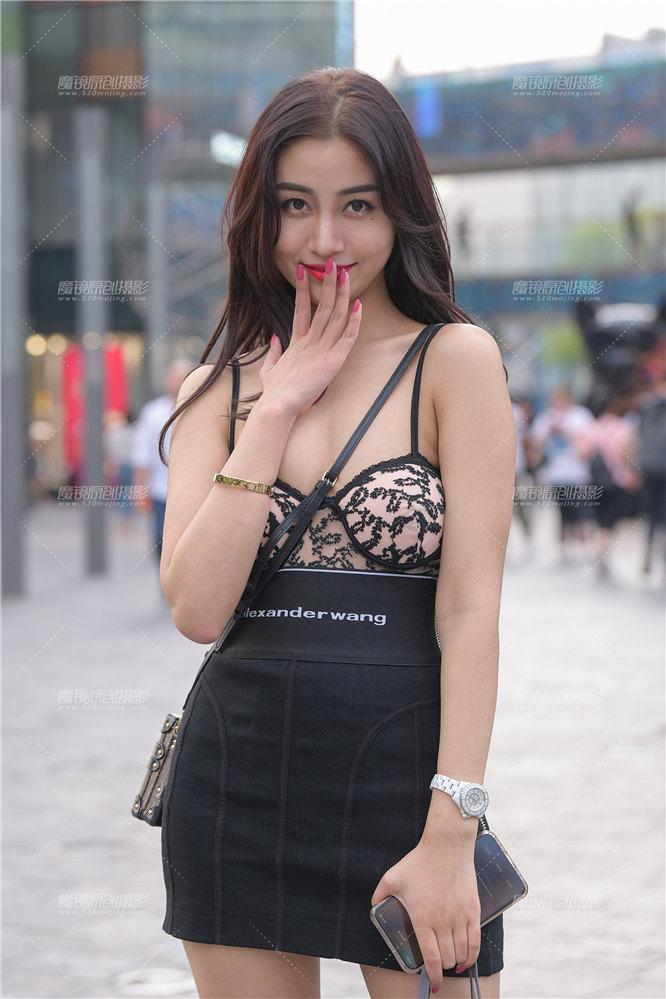 [街拍裙装系列] 【街拍之魂赛帖】甜美又不失野性
